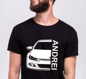 Tricou Personalizat Auto - VW Scirocco GT cu nume sau numar2