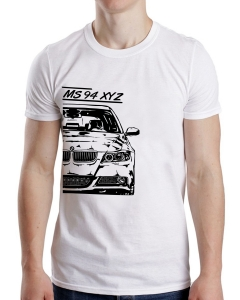 Tricou Auto - BMW E90 Personalizat cu Nume sau Numar0