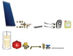 PACHET! KPR1+ANT Panou solar plan cu boiler 160L