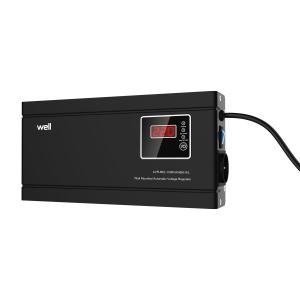 Stabilizator automat de tensiune cu releu 1000 VA/ Slim, Well