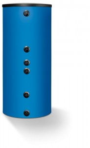 Boiler monovalent cilindric vertical albastru Logalux SU300/5