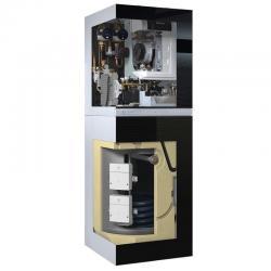 Centrală termică în condensare pe gaz 25 kW Buderus Logamax Plus GB192-25iT150S ( negru )