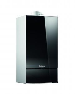 Centrală termică în condensare pe gaz 30 kW Buderus Logamax Plus GB172-30 iK H ( negru )