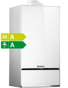 Centrală termică în condensare pe gaz 30 kW Buderus Logamax Plus GB172-30 iKW H ( alb )
