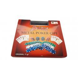 Set 100 jetoane poker DICE 11 gr.0