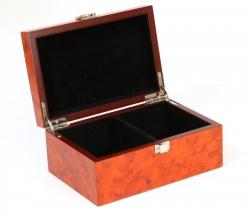 Cutie pentru piese - nod radacina de lemn - mare1