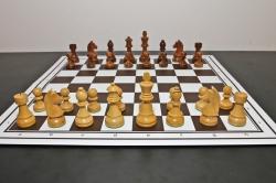 Piese lemn Staunton  6 Clasic EQ +Tabla no 6 mahon artar2