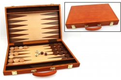 Set joc table / backgammon - frasin - 45x59 cm0