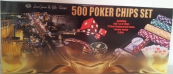 Set poker cu 500 chips-uri si servieta din aluminiu1