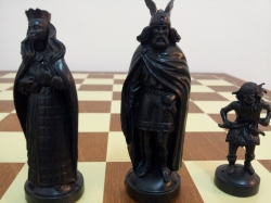 Set sah tematic - Viking (tabla mare)1