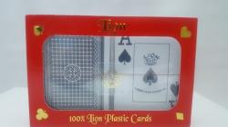 Carti de joc 100% plastic, jumbo index - double deck2