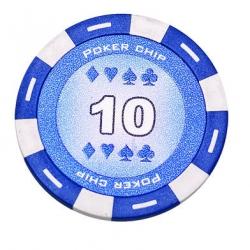 Jeton Poker Chip 11.5g - Culoare Albastru - inscriptionat (10)1