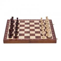 Set sah BHB no 4, inlaid mahon/artar0