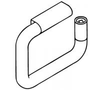 Suport hartie igienica cu element de retentie Hewi1