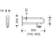 Bara stationara pentru sprijin lateral6