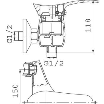 Baterie dus BTP7PVD Padwa PVD1