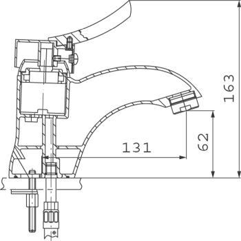 Baterie lavoar BTW2 Padwa1