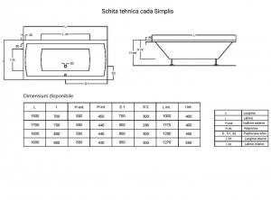 Cada 150x70 cm Simplis3