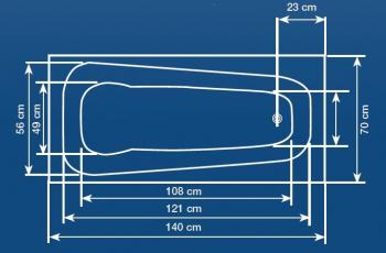 Cada 140x70 cm Alba1