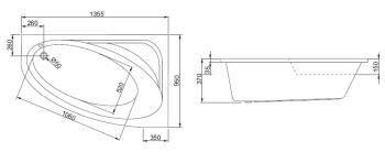 Cada colt asimetrica 135x95 cm Cordoba4