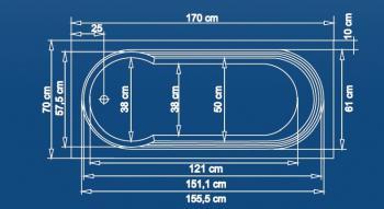 Cada 160x70 cm Berlin1
