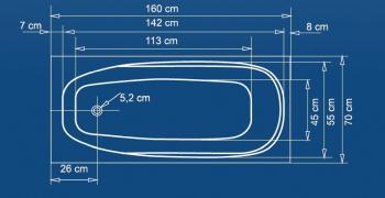 Cada 170x70 cm Linea1