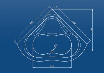 Cada 120x120 cm Capri1