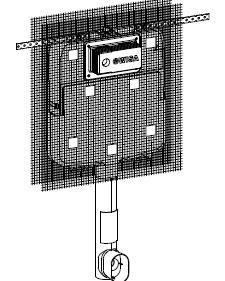 Rezervor ingropat pt. vase WC pe podea Wisa1