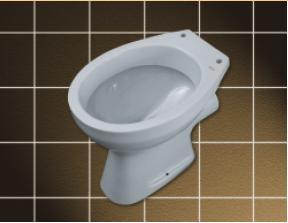 Vas WC 440 x 355 mm CIL