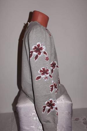 Bluză cu imprimeu flori
