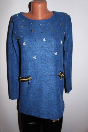 bluza-albastra