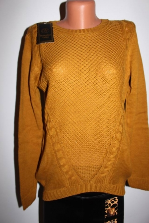 Pulover cu fundiță triko