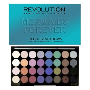 Revolution Mermaids Forever - 32 Eyeshadows