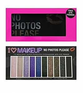 I Heart Makeup - No Photos Please