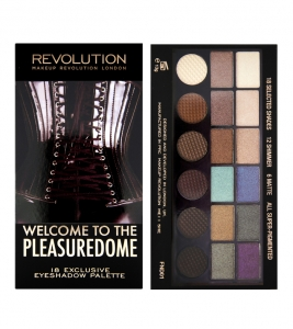 Makeup Revolution Salvation Palette Welcome to the Pleasuredome