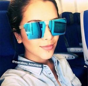 Ochelari de Soare Unisex Albastri6