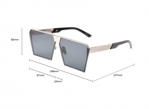Ochelari de Soare Unisex Albastri1