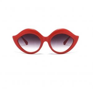 Ochelari de Soare Rosii cu Buze0