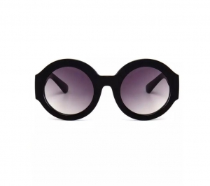 Ochelari de Soare Rotunzi Negri0