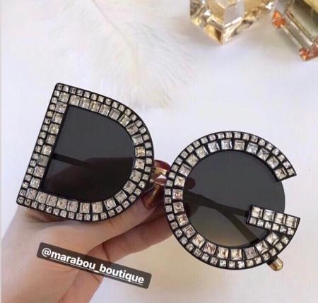 Ochelari de Soare cu Cristale DG11