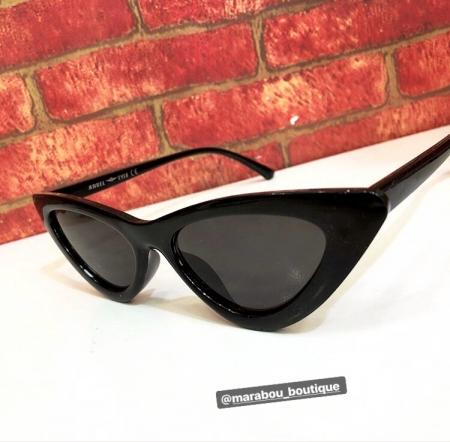 Ochelari de Soare Negri Super Cat Eye8