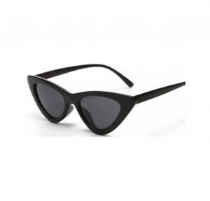 Ochelari de Soare Negri Super Cat Eye0