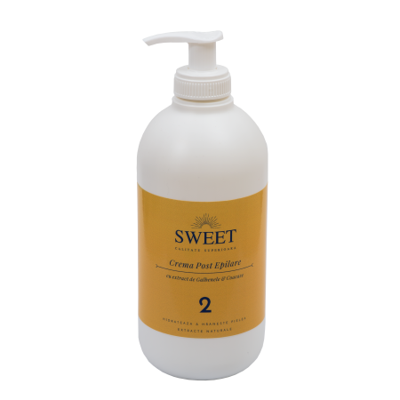 Crema post epilare galbenele & coacaze Sweet 500ml