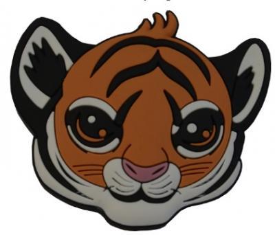 Buton copii tigru