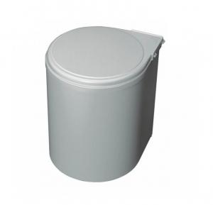 Cos de gunoi gri 13 l incorporabil in dulap de bucatarie