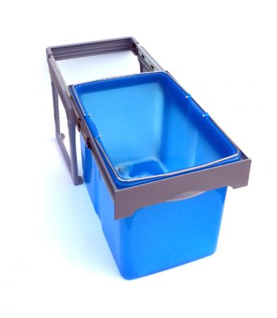 Cos de gunoi incorporabil Ekko Easy cu 1 compartiment x 34 litri
