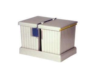 Cos de gunoi incorporabil in sertar, cu 2 recipiente x 16 L, pentru corp de 400 mm latime