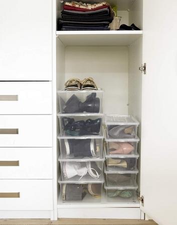 Cutie depozitare pantofi 390x258x133