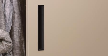 Maner pentru mobilier Cubic negru mat