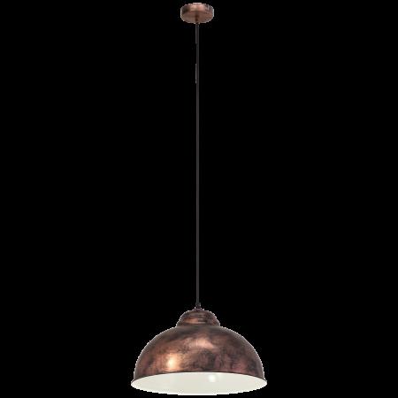 Pendul vintage finisaj cupru antichizat diametru 370 mm
